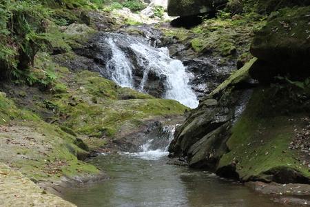 Waterfall of Higashishiiya in japan