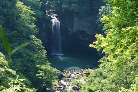 Waterfall of Suzaki in japan.