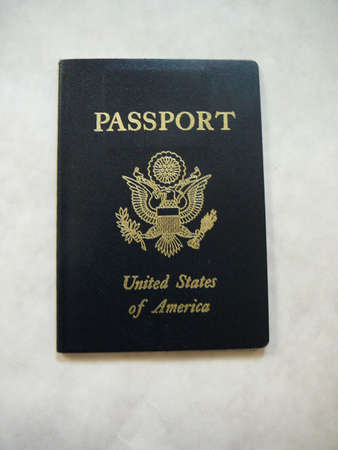 United States Passport. Banco de Imagens