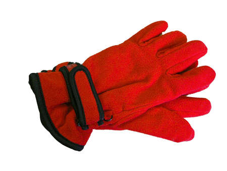 Bright Red Gloves