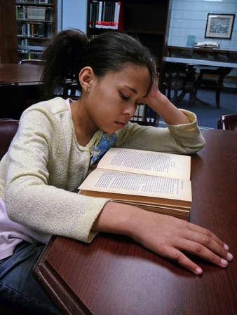 Child Studying Zdjęcie Seryjne