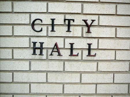 City Hall Signage