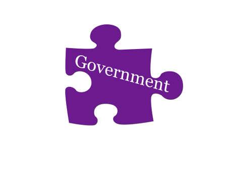 政府は理解していません。 写真素材