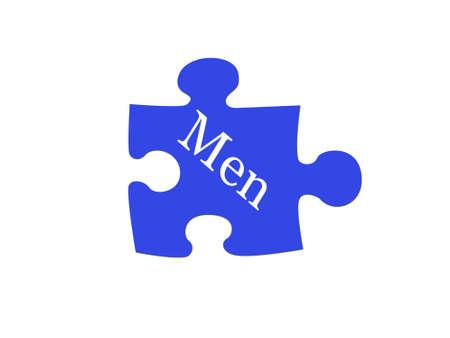 understand: Dont understand men Stock Photo