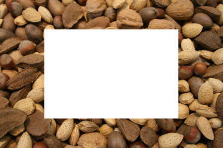 Mixed nuts frame
