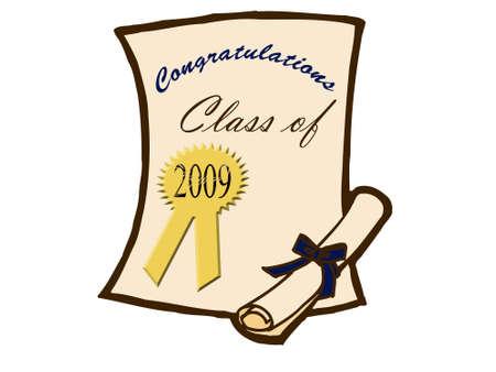 beginnings: Graduation certificate and diploma