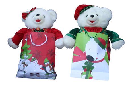 Christmas Bears Zdjęcie Seryjne