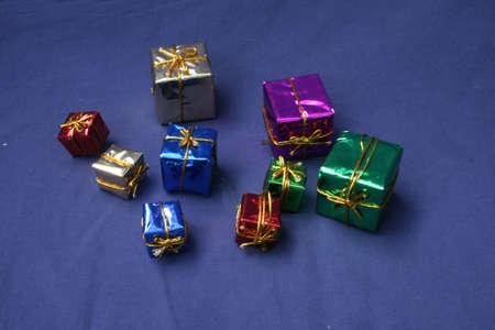 Gift Box Ornaments Zdjęcie Seryjne
