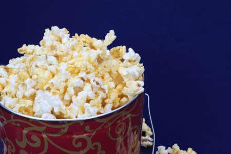 Christmas Tin of Popcorn  Zdjęcie Seryjne