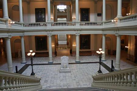 Geortia State Capitol  Interior