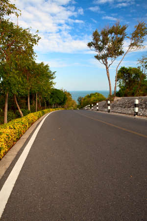 strips away: Road to the sea