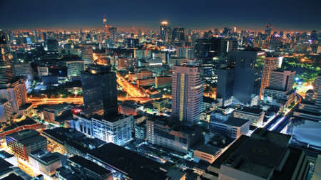 thailand view: Night city