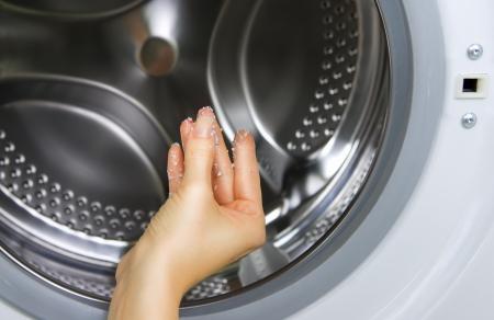 laundromat: washing machine