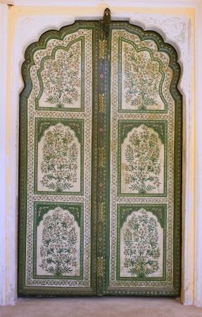 east gate: vintage door Stock Photo