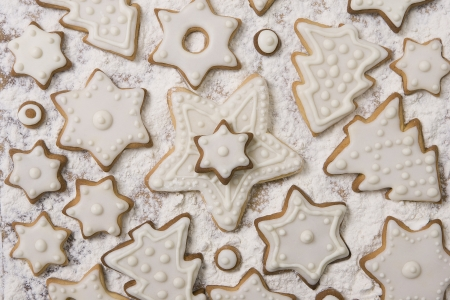 Christmas Ginger and Honey cookies (Christmas sweets), Preparing for Christmas photo