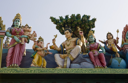 vedas: Sri Murugan Temple near Hampi, India 2014