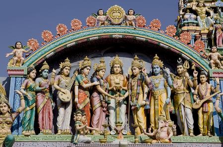 nandi: Sri Murugan Temple near Hampi, India 2014