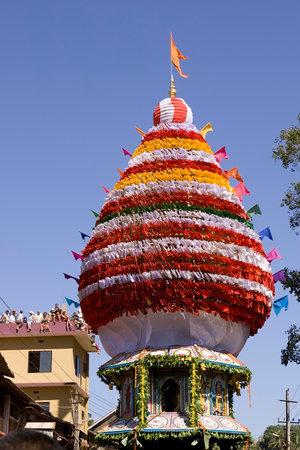 reverence: GOKARNA,INDIA – Feb 27: People celebrate the Mahashivratri Hindu festival in Gokarna, India on Feb 27, 2014. Maha Shivratri celebrated yearly in reverence of Lord Shiva