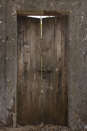 transom: The Old Cracked wooden Door, vintage Background