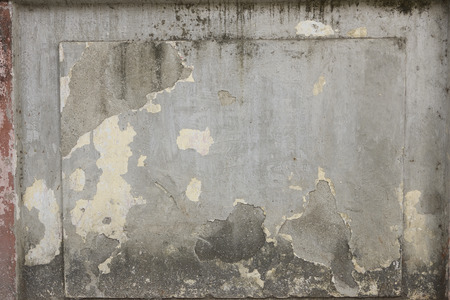 cracked concrete: Cracked Concrete Vintage Wall Background, Old Wall. Textured Background