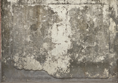 Cracked Concrete Vintage Wall Background, Old Wall. Textured Background