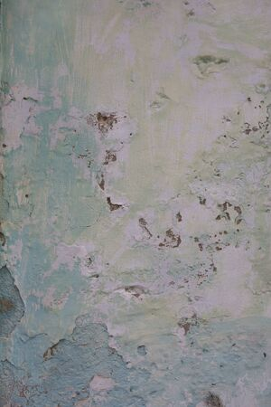 Cracked concrete vintage wall background, old wall painted blue. Textured background 版權商用圖片