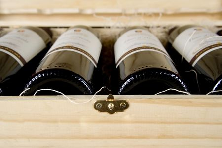 Bottles of Wine photo