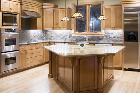 cabinets: kitchen