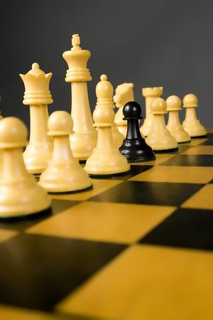 warzone: Chess Stock Photo