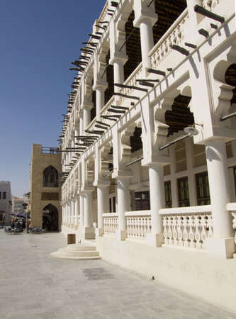build in: The new Souq Waqif build in a old fashion way