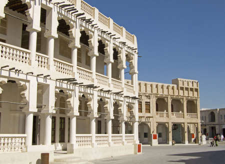 souq: The new Souq Waqif build in a old fashion way