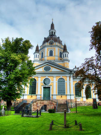 katarina: Katarina church in Stockholm, Sweden Stock Photo