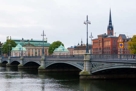 View over the old town  Gamla Stan  in Stockholm photo