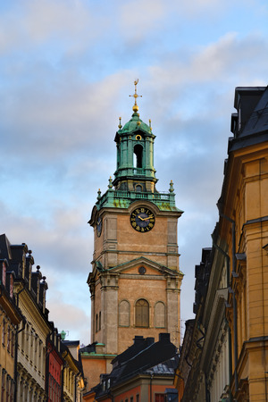 gamla stan: One of the main attractions in Stockholm is The Old Town or in swedish Gamla Stan