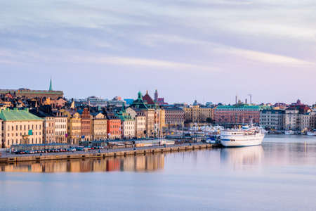 gamla stan: View over buildings in the Old Town (Gamla Stan) in Stockholm, Sweden