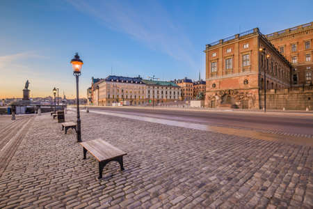 stan: Buildings and architecture in Gamla Stan in Stockholm, Sweden