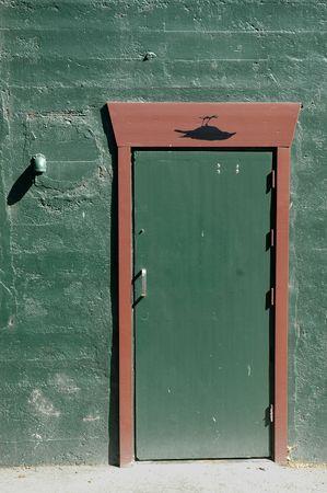 puerta verde: Green Door