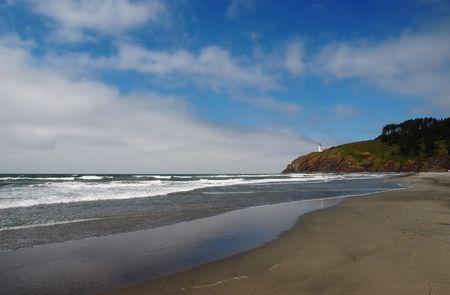 decepci�n: Jefe del Norte Faro de Cabo decepci�n Parque Estatal