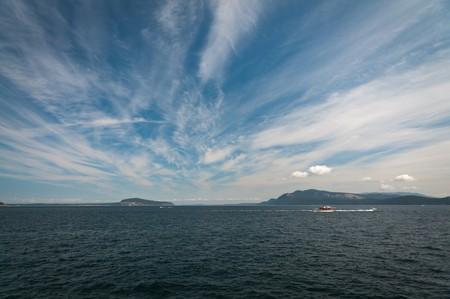 cirrus: Cirrus clouds above the Puget sound