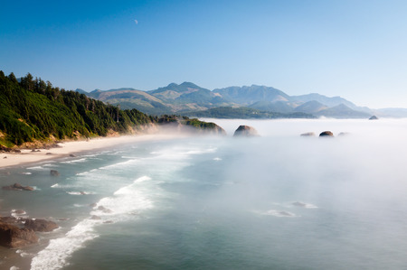 Oregon coastline at Ecola State park