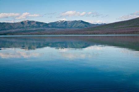 Shores of Lake McDonald at Glacier National Park, Montana