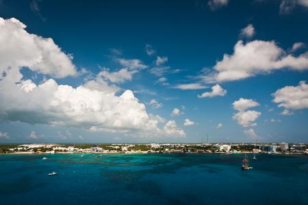 Coastline of Grand Cayman, Cayman Islands