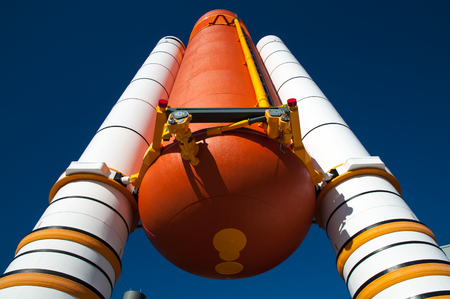 Rocket boosters and external tank