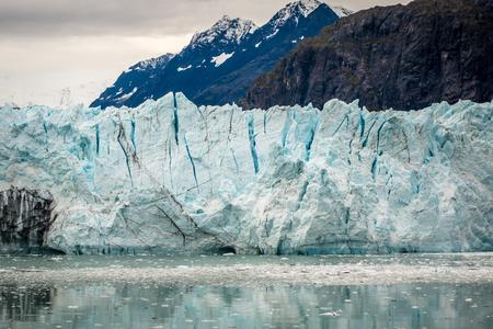 Margerie Glacier in Glacier National Park, Alaska Archivio Fotografico - 112283759
