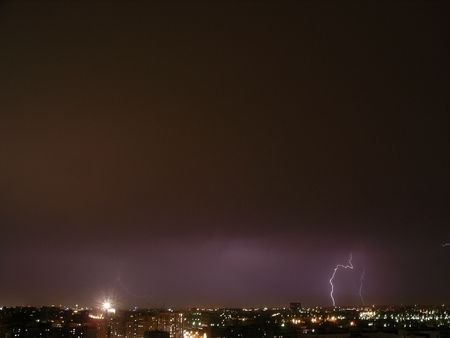 phenomena: Moscow. Night. The first storm.