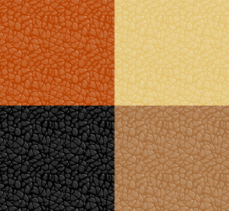Leather texture seamless pattern Vector