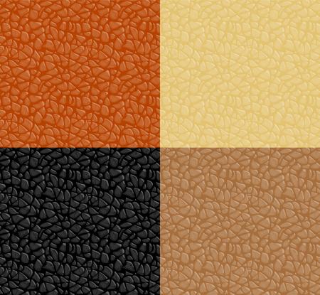 Leder-Textur nahtlose Muster