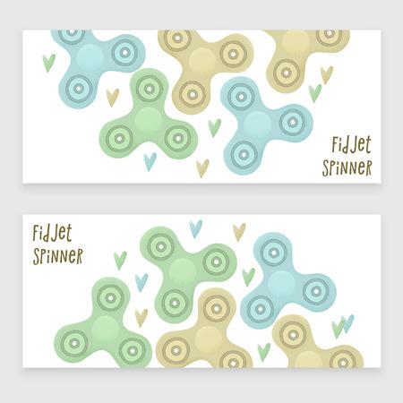 Fidget spinner cover design