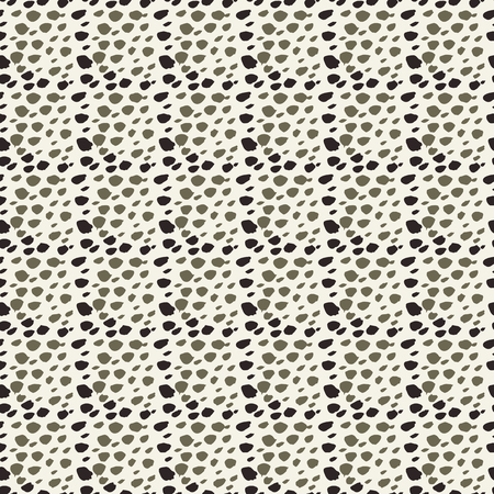 Vector hand drawn african animal print grid seamless repeat texture pattern background. Perfect to use as is for fabric, home decor, apparel and accessories, gift wrap, stationery and also great for texturing your illustrations and other design work.