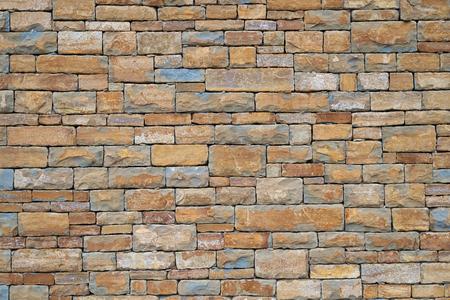 Stone wall background. Mediterranean style.